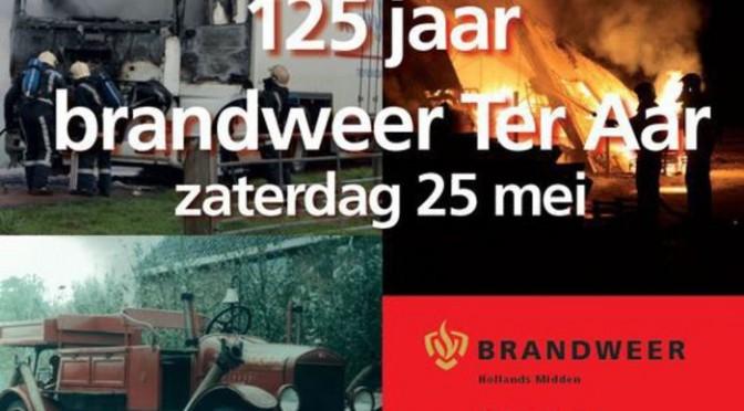 Expositie 125 jaar brandweer Ter Aar